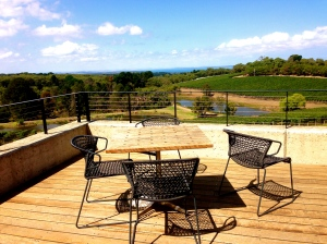 View of the Vines - Outdoor Bistro Seating